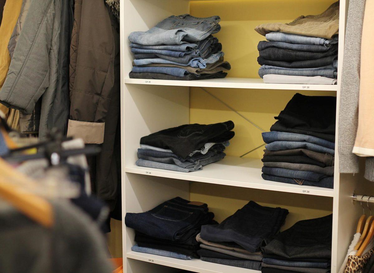50% auf Kleidung